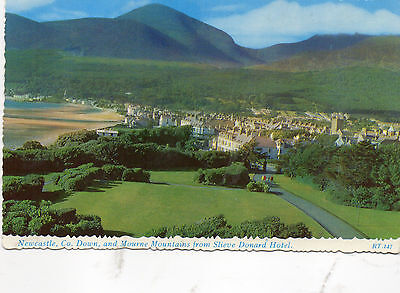 postcard Ireland  Newcastle Co. Down and Mourne Mountains unposted