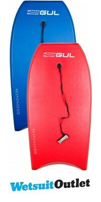 2017 Gul Response Twin Package Bodyboards - 2 Adult - Blue + Red