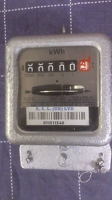 Single Phase Electric Meter 80 Amp Reconditioned Zeroed & Tested