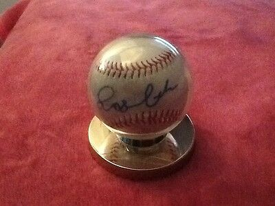 Lady Gaga Official League Nike Signed Baseball Coa