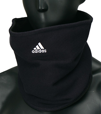 Adidas Football Fleece Neck Warmer Running Black Soccer Face Mask OSFM W67131