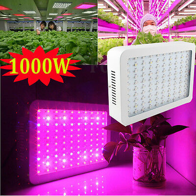 1000W 30000LM LED Full Spectrum Grow Light Medical Growth Plants Bloom Indoor