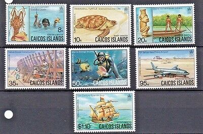 Caicos Islands.   1983. SG15-21  (Short set)  MNH