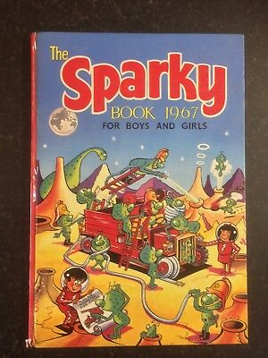 1st Edition The SPARKY Annual 1967 Book - Vintage Collectable