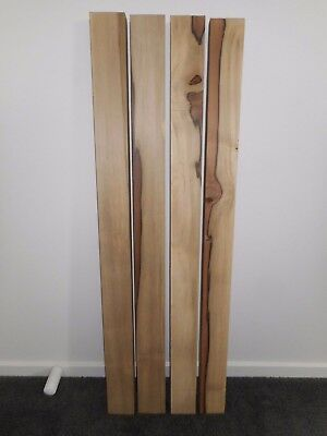 4 x Tasmanian Sassafras Boards - Craft - Wood