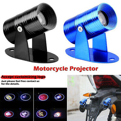 Motorcycle LED Laser Projector SHADOW Logo Light Batman Harley Ddavidson Yamaha