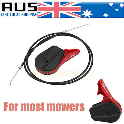 Lawn Mower Throttle Cable Control Switch Lever for Electric Petrol Lawnmowers