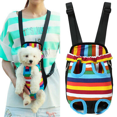 Portable Pet Dog Puppy Carriers Lightweight Travel Carrier Backpack Front Tote