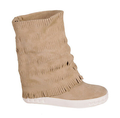Casadei: Sneakers Suede Sand 80Mm