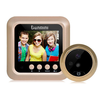 DANMINI W5 2.4 inch Color Screen No Disturb Peephole Viewer - Gold