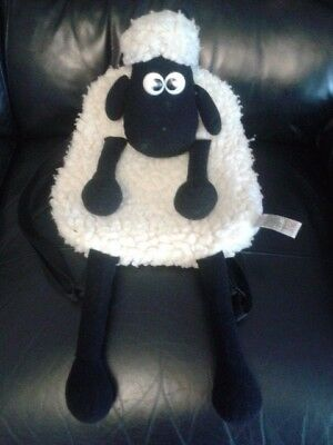 wallace and gromit shaun the sheep backpack bag
