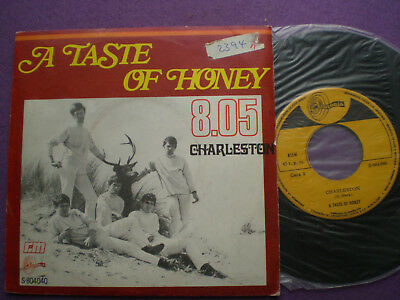 A TASTE OF HONEY 8,05 SPAIN 45 1969 NM FADING YELLOW POP MARVEL Moby Grape