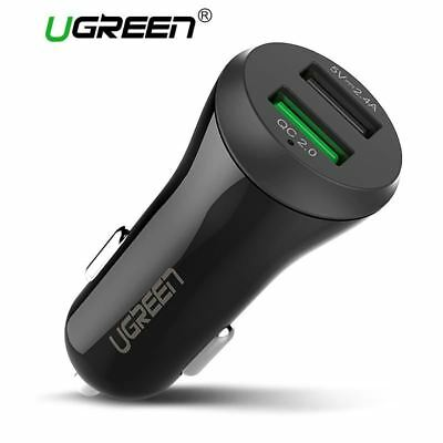 Dual USB Auto Ladegerät Schnell Laden 2.0 3.0 Handy KFZ-Lader Adapter Charg