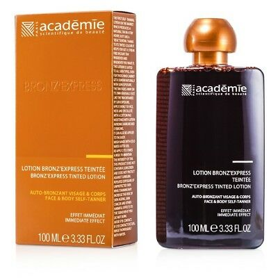 Academie Bronz' Express Face and Body Tinted Self-Tanning Lotion 100ml Sun Care