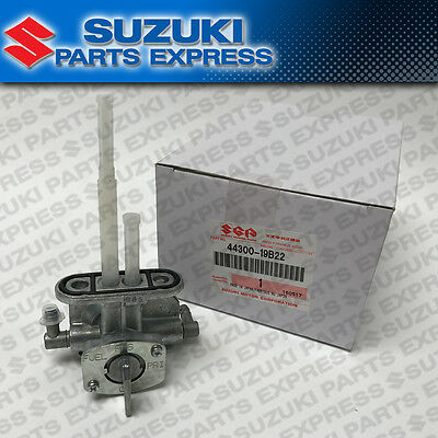 New Suzuki Oem Fuel Petcock Tap Lt-F250 Quadrunner Lt-F300 King Quad 44300-19B22