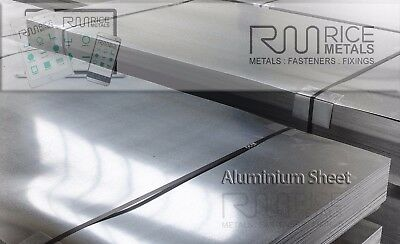 1mm 1.2mm 1.5mm 2mm & 3mm Aluminium Sheet Metal Cut to Size if Required