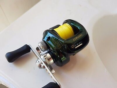 Shimano Curado reel 200E7 Baitcaster Made in Japan