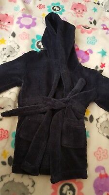boys 12-18 months dressing gown