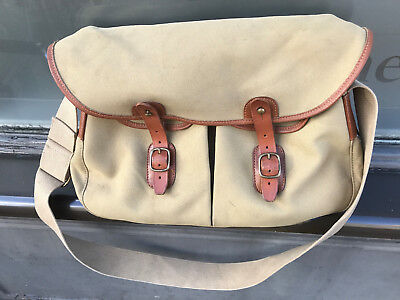 Brady Canvas and Leather Ariel Trout Fishing Bag -  Retails New at Over £200