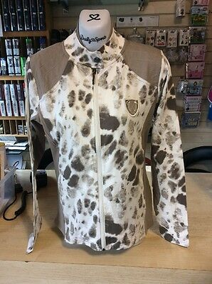 Daily Sports Ladies Summer Jacket In Animal Print Size 14