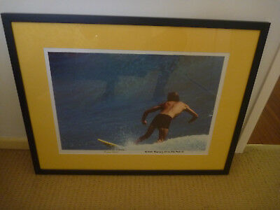 Michael Peterson Kirra 1976 Photo Signed Surfing