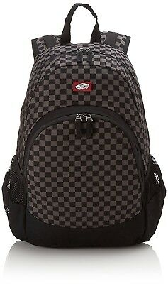 Vans Van Doren Backpack Checkerboard - Black/Charcoal