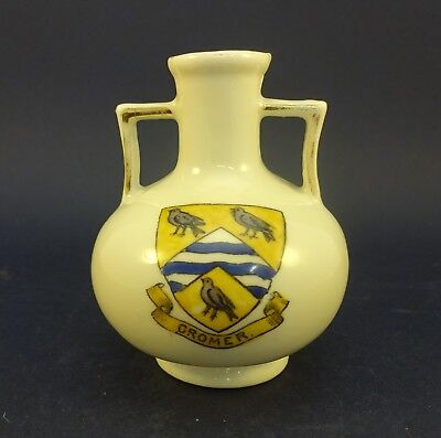 China Model of a Vase with Cromer Crest