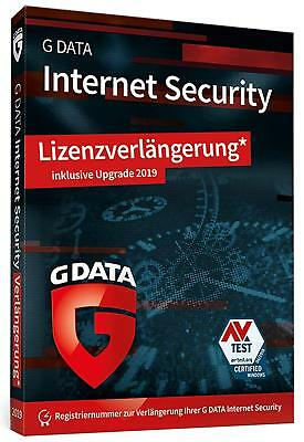 G Data Internet Security 2018 * 3 PC * 1 Jahr * DE * Deutsche Lizenz * GData