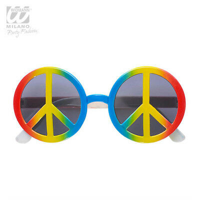 """Hippie Partybrille """"Peace"""""""
