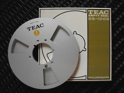 TEAC EMPTY REEL  RE - 1002    BOBINE en ALU  26,5 cm