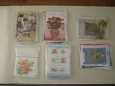Job Lot of 69 Brand New and Sealed  Quality Greeting Cards / Free  Postage