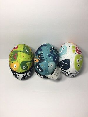 Mamaroo Monster Plush Ball Toy Set (3) for Mobile 4Moms Replacement Part