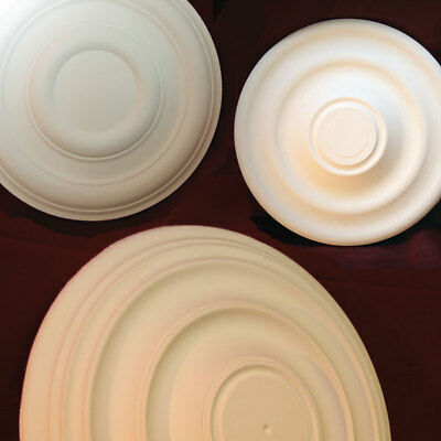 Plain Victorian Ceiling Roses - Handmade in Kent with Plaster. Restorations