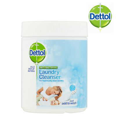 Dettol Laundry Cleanser Powder Fresh Cotton Fragrance 495g Anti-Bacterial