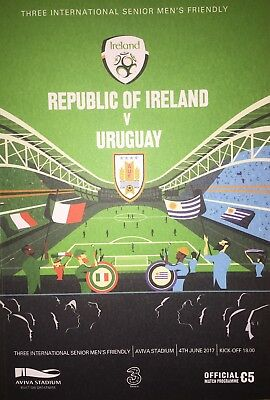 Republic of Irealand v Uruguay - Offical Match Programme