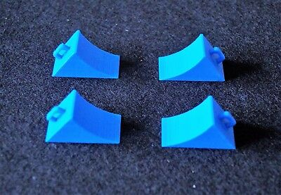 RC Tamiya Truck Chocks 1/14th 4 pack