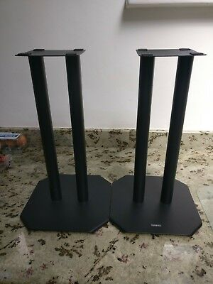 "Speaker stands, new, 16"" tall."