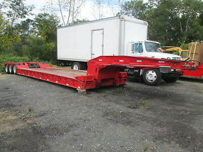 "Eager Beaver 50-GSL Detachable Trailer W/24' Well 100k Cap 11' 8""X 12'W Max Load"