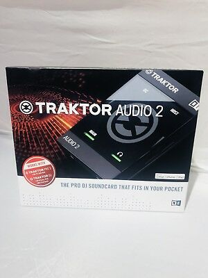 Native Instruments TRAKTOR AUDIO 2 Portable DJ Interface New