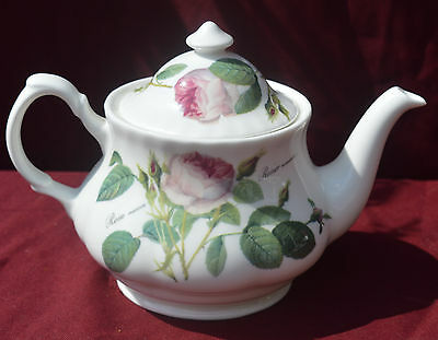 Roy Kirkham ~ Redoute Roses 4 Cup Teapot