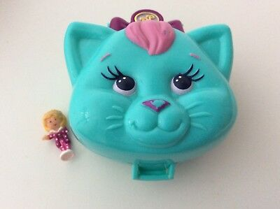 Vintage Polly Pocket 1993 CUDDLY KITTY Variation 99% Complete