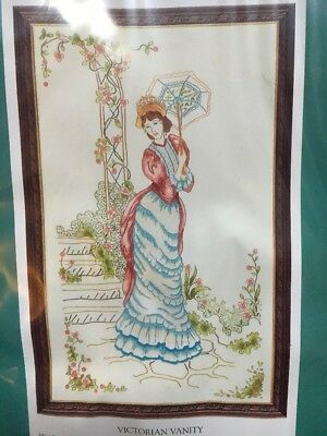 Anchor Embroidery Kit - Victorian Vanity