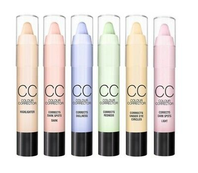 CC Blemish Crayon Stick Colour Corrector concealer contour eye circles redness