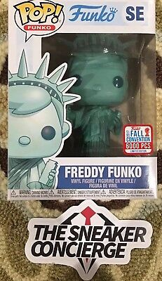 NYCC 2017 Funko Pop New York Statue of Liberty Freddy Funko 6000 pieces Limited