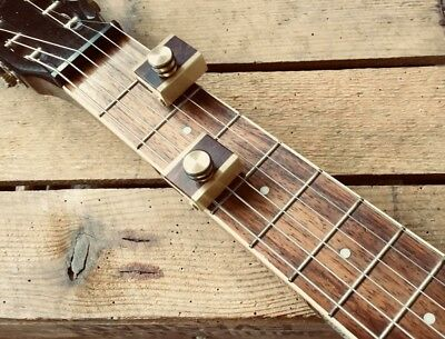 Partial Lap Steel/Dobro/Resonator Square Neck/weissenborn Capo By WOODSHED CAPOS