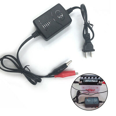 Car Motorcycle 12V Smart Compact Battery Charger Tender Maintainer US / EU Plug