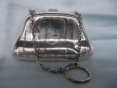 Antique Sterling Solid Silver Purse / Dance Card Case - Hallmark BIRMINGHAM 1909