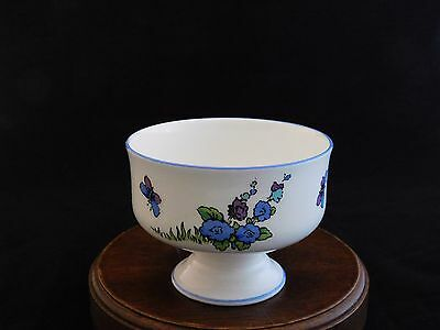 Crown Staffordshire Gainsborough Footed Dessert Compote Bowl