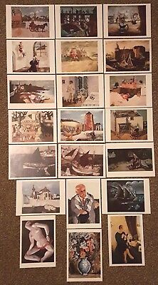 NEW Postcards Art Christopher Wood Collection of 21 Painting Prints Postcrossing