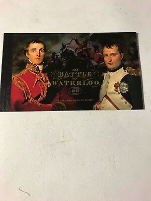 Royal mail stamps Battle of Waterloo